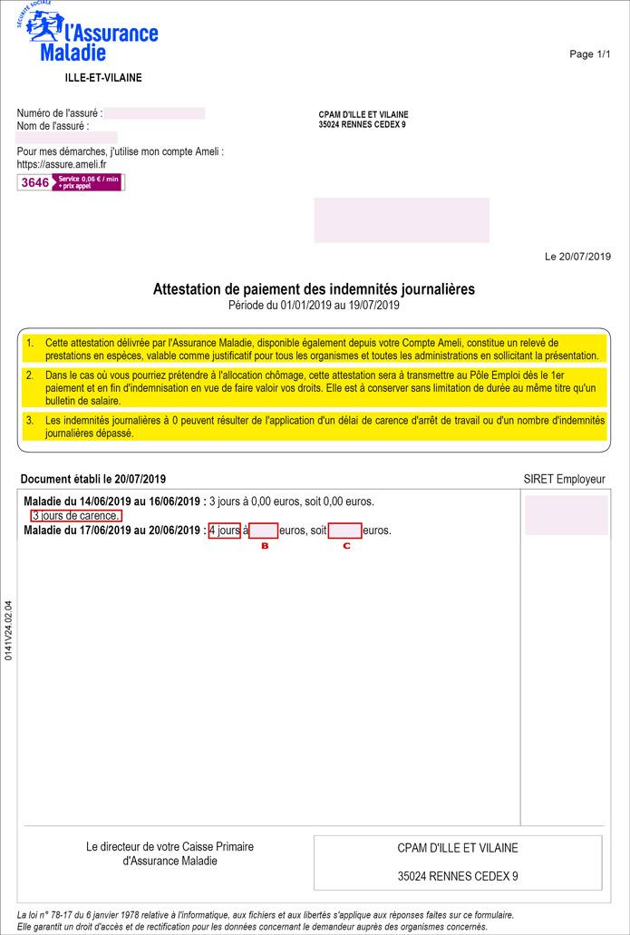 Contractuels Arret Maladie Snfolc 35